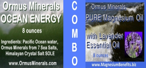 Ormus Minerals Ocean Energy with PURE Magnesium Oil with Lavender